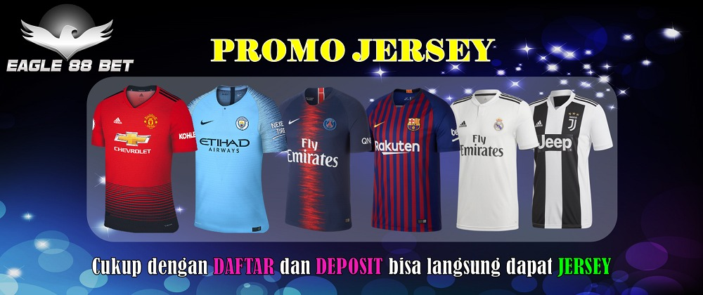 Promo Jersey eagle88bet